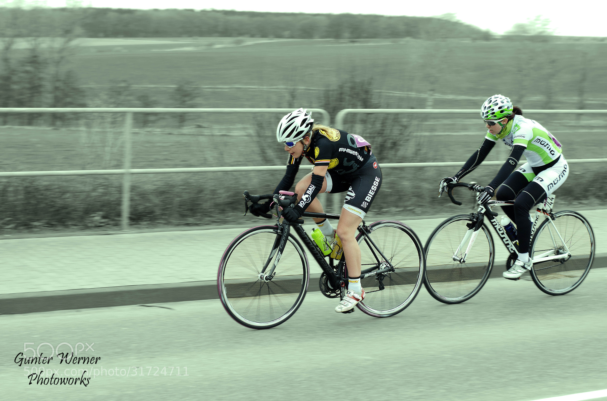 Photograph cycle race by Gunter Werner on 500px