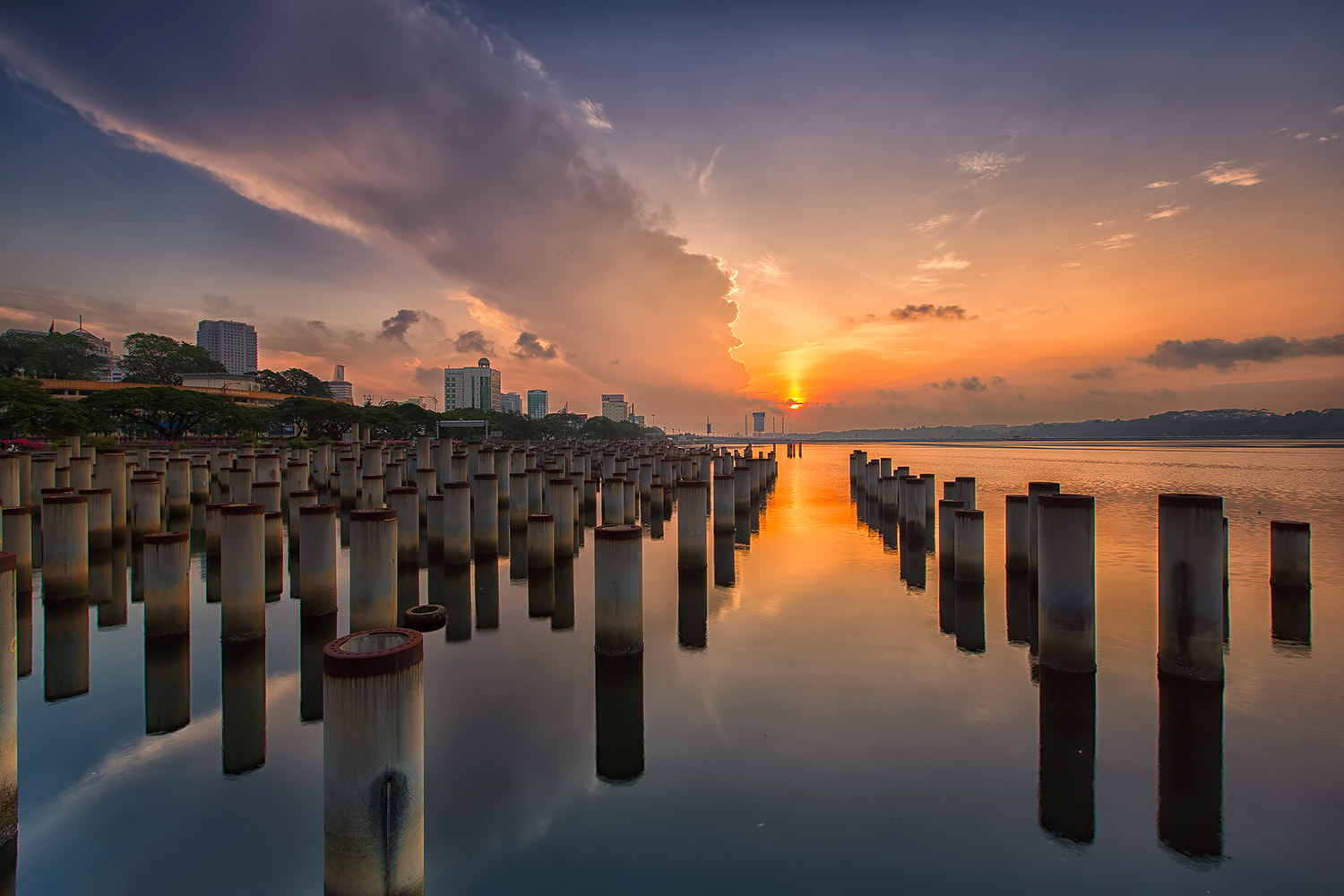 Photograph Sunrise Path by Jacobs LB on 500px