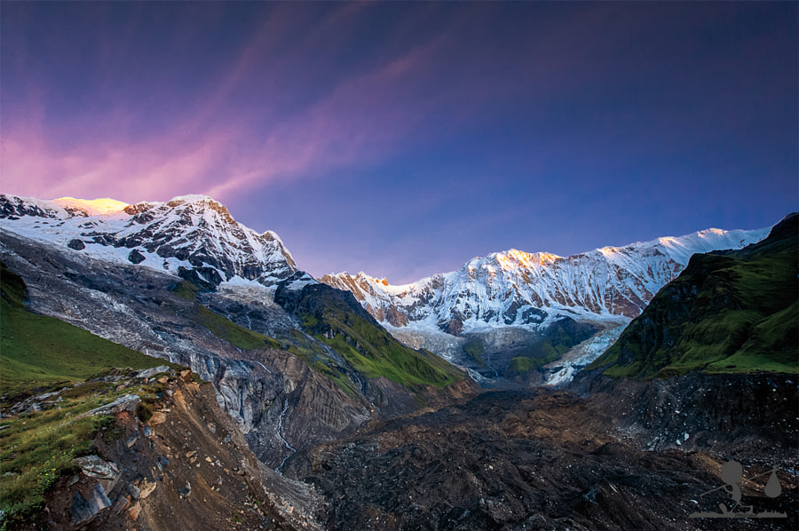 Annapurna Sunrise by Gianmarco Meroni on 500px.com