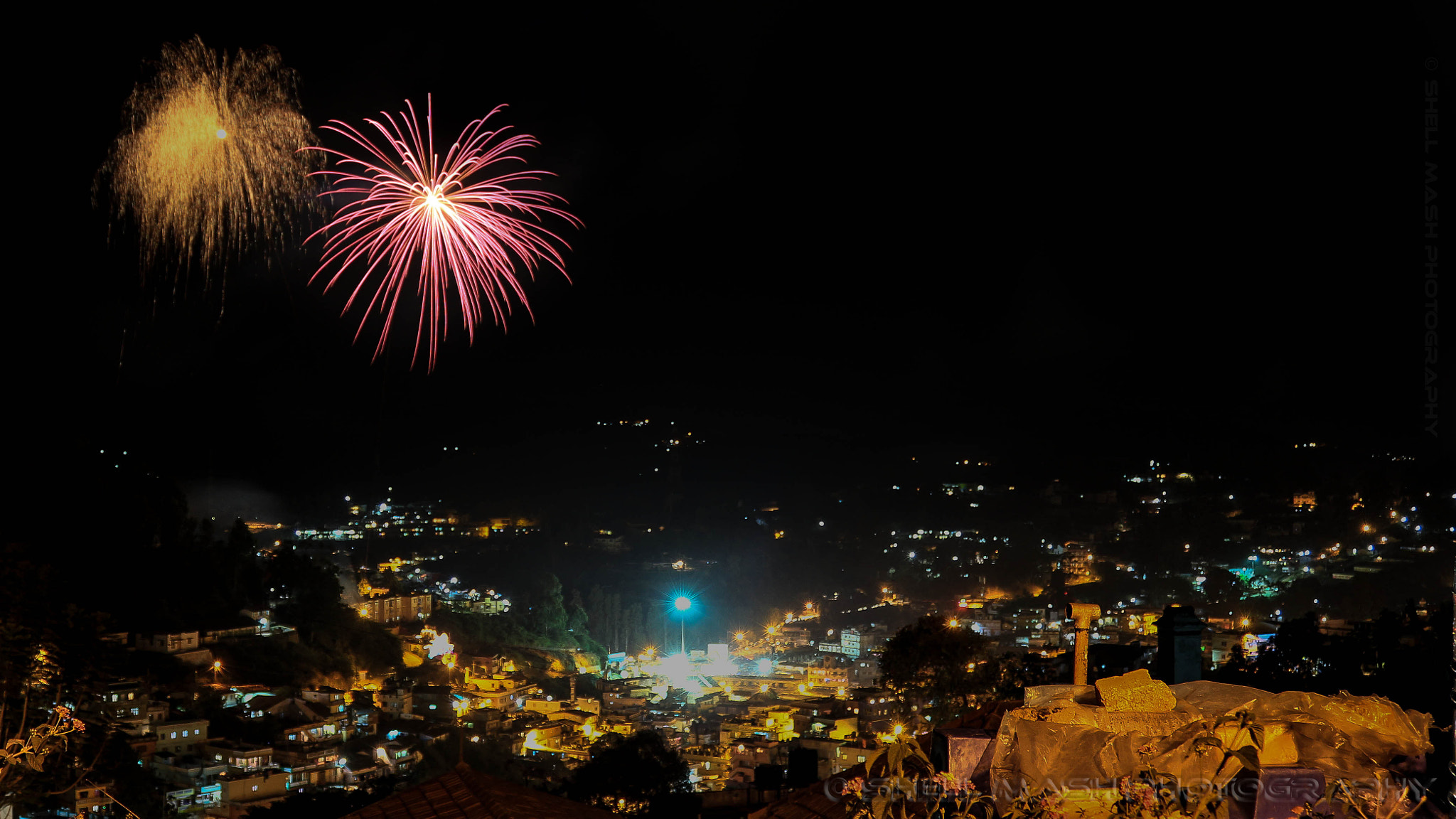 Photograph Fireworks at coonoor by Shell Mash on 500px