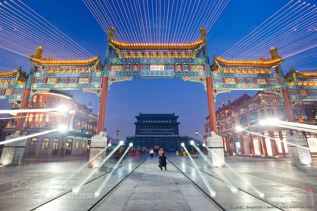 Photograph Beijing Portal by Joel Santos on 500px