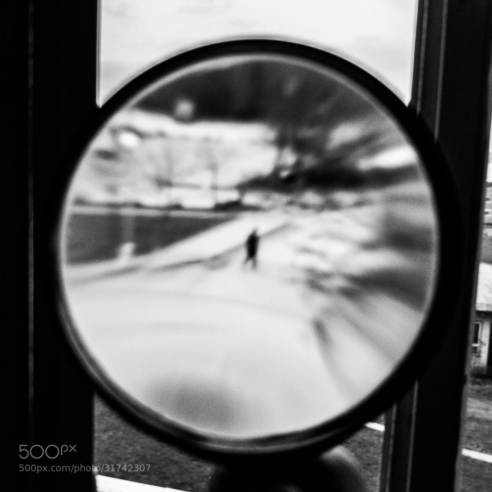 Photograph Man in a loupe. by Michal Jenčo on 500px