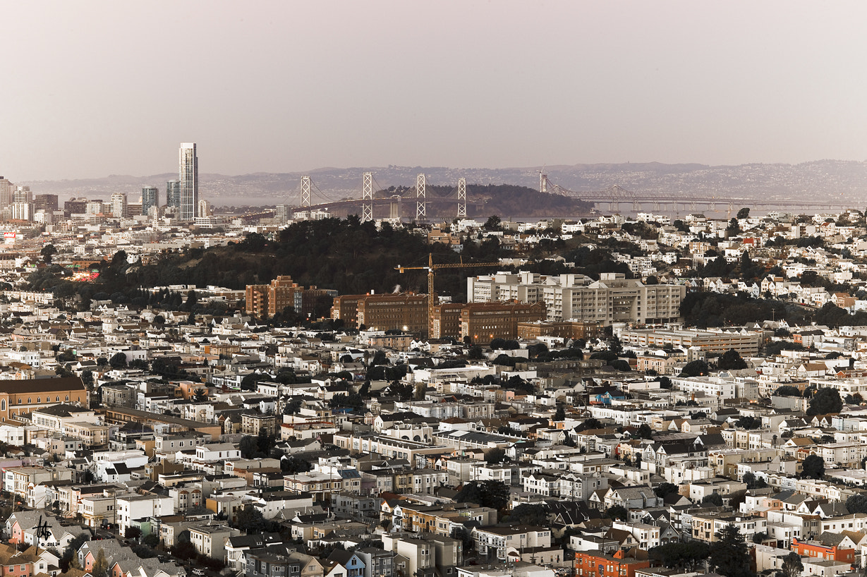 Photograph San Francisco and the Bay Bridge by Joe Larraga on 500px