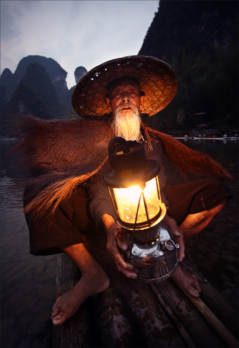 Photograph Old fisherman in Guilin by Woosra Kim on 500px