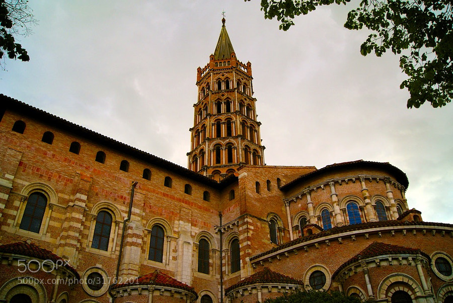 St Sernin by wenmusic * (wenmusic)) on 500px.com