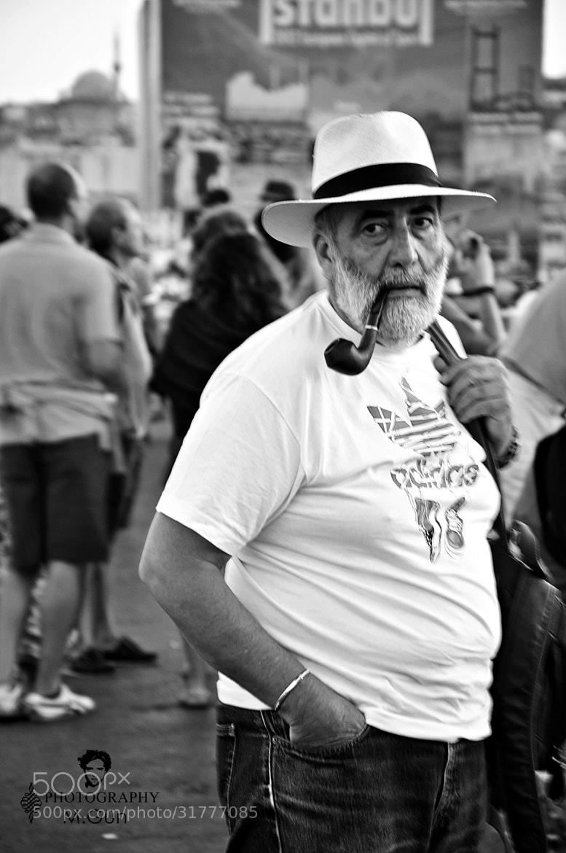 Photograph Man - B & W by Melih Gün on 500px