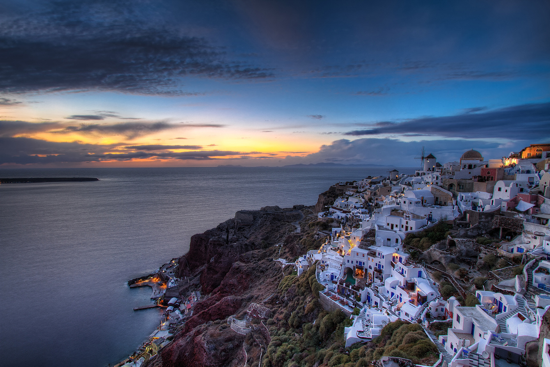 Photograph Blue hour in Oia by Nikola Totuhov on 500px