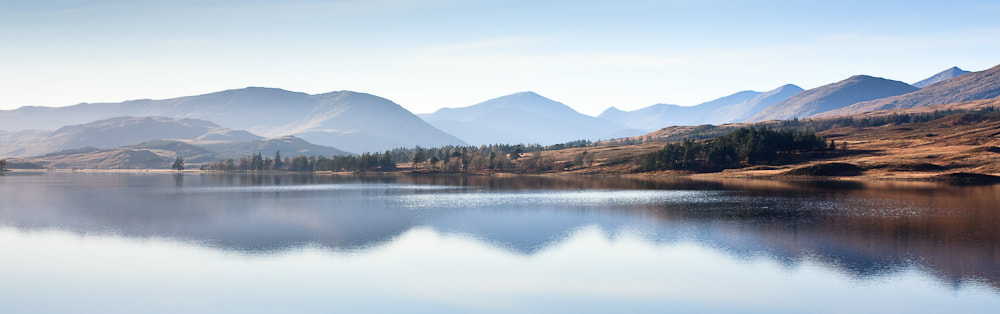 Photograph NW-Scotland, Loch Tulla, Mountains.  by Simon Auchterlonie on 500px