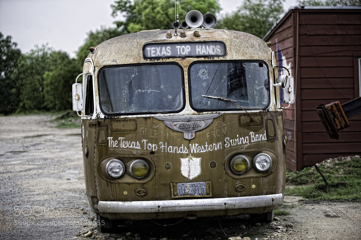 Photograph Texas Swing bus by Paul Todd on 500px