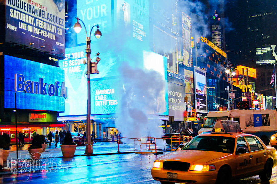 Photograph Times Square by John Paul Williams on 500px