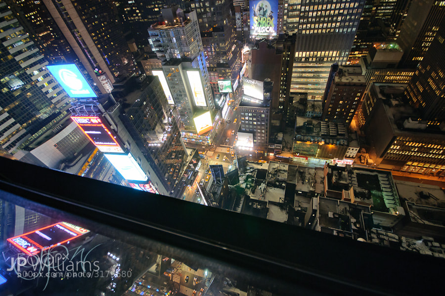 Photograph Looking down to Times Square by John Paul Williams on 500px