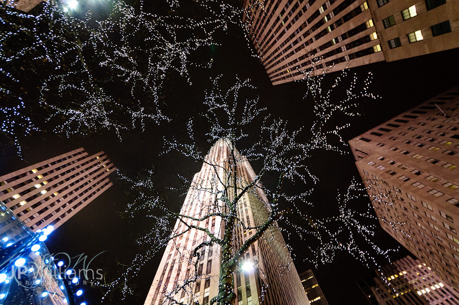 Photograph Rockefeller Center at night by John Paul Williams on 500px
