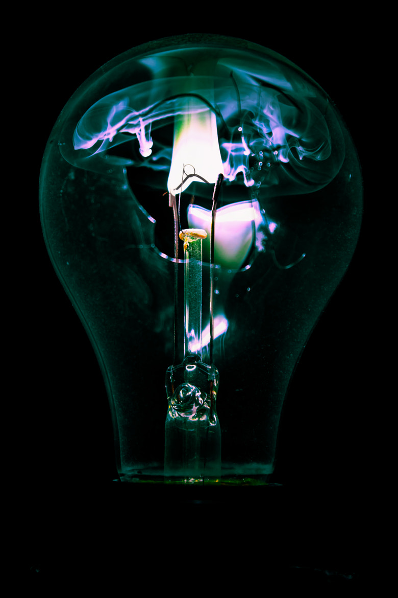 Photograph Burning Bulb #13 by Chris Meier on 500px