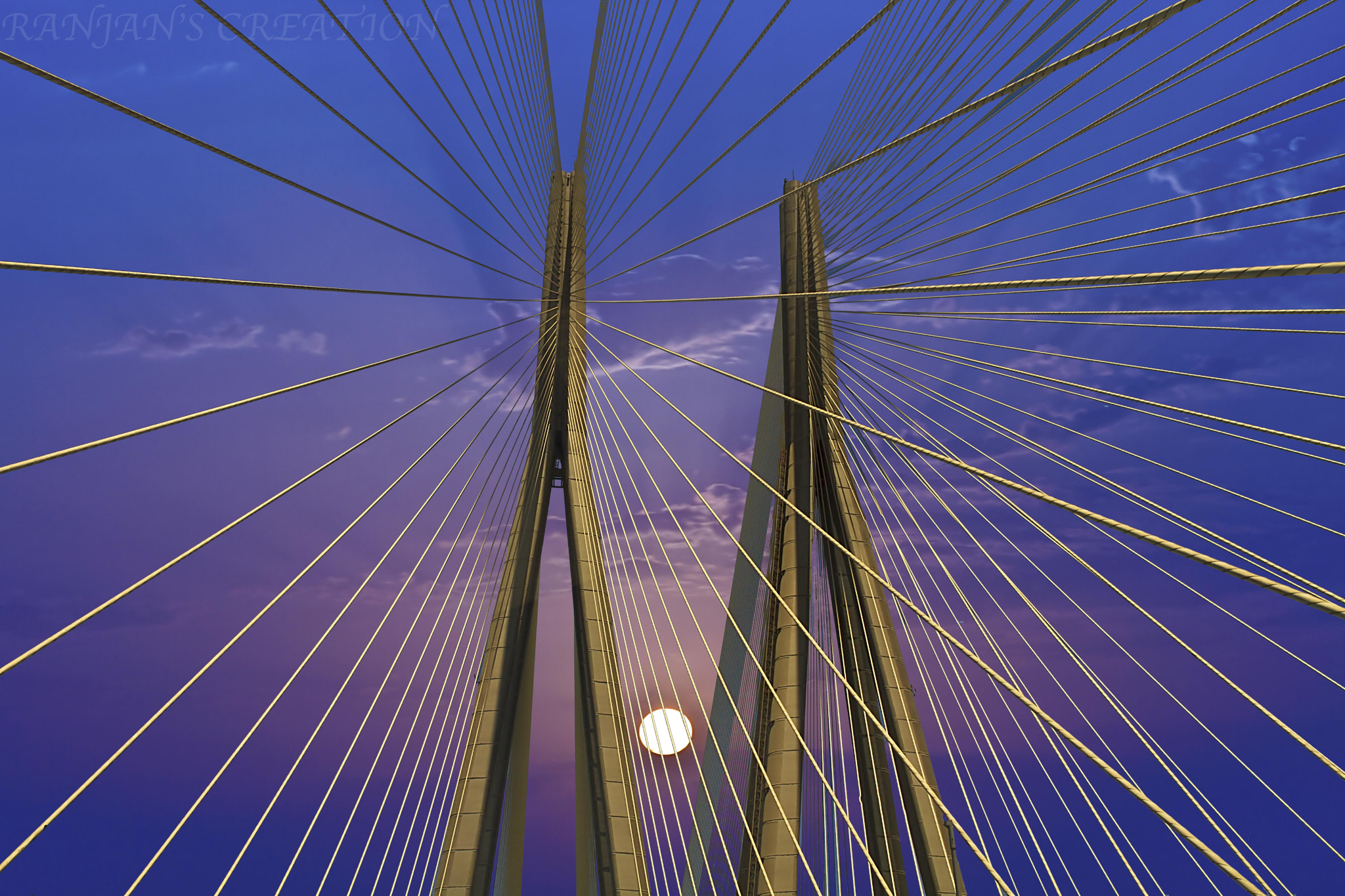 Photograph Skylink Bridge in Mumbai by RANJAN SM on 500px