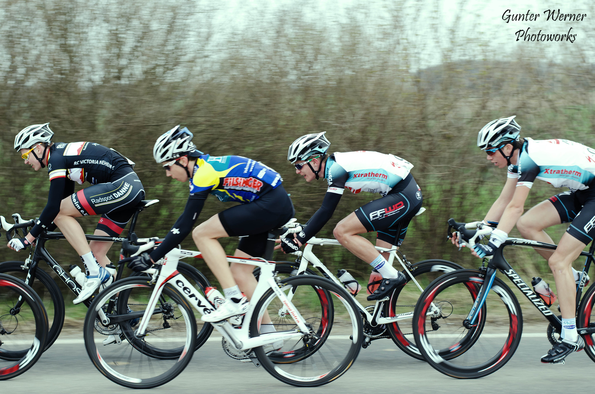 Photograph cycle race II by Gunter Werner on 500px
