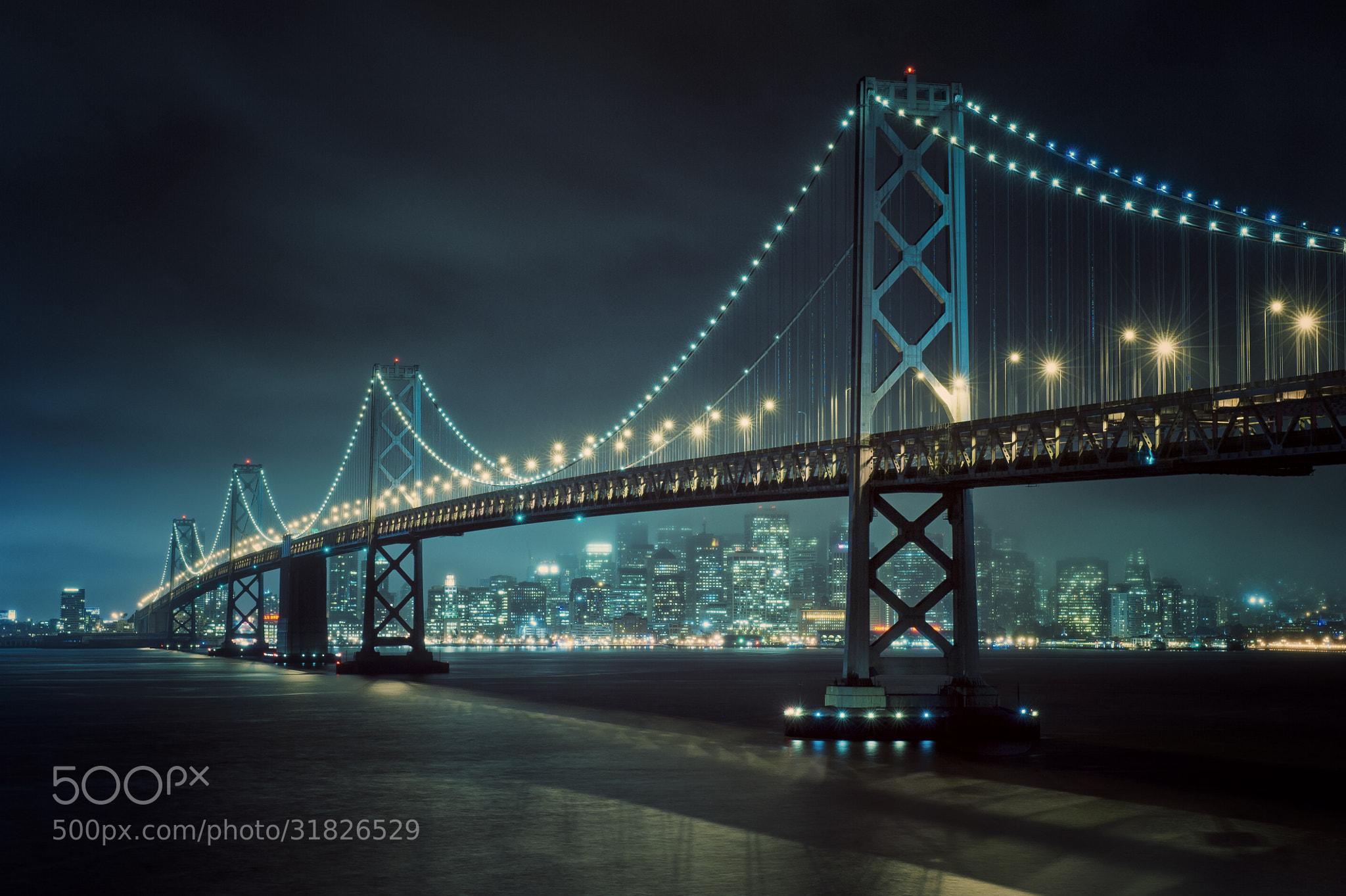 Photograph Bay Lights by Allard Schager on 500px