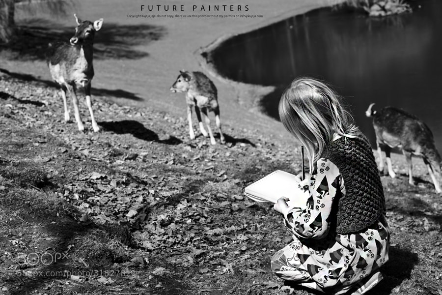 Photograph Future painters by K J on 500px