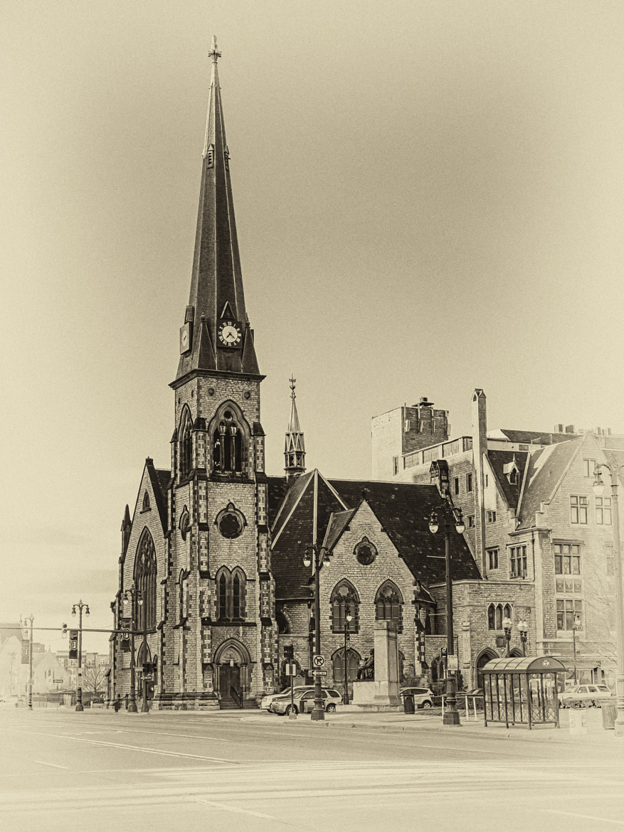 Photograph Central United Methodist Church by Steven Wosina on 500px