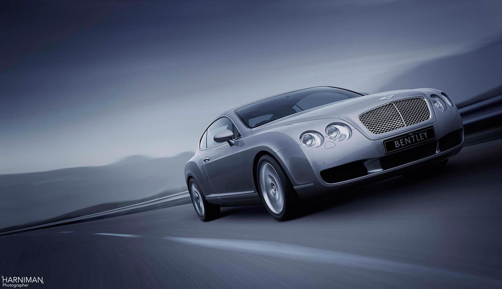 Photograph Bentley Continental Launch Image by Nigel Harniman on 500px