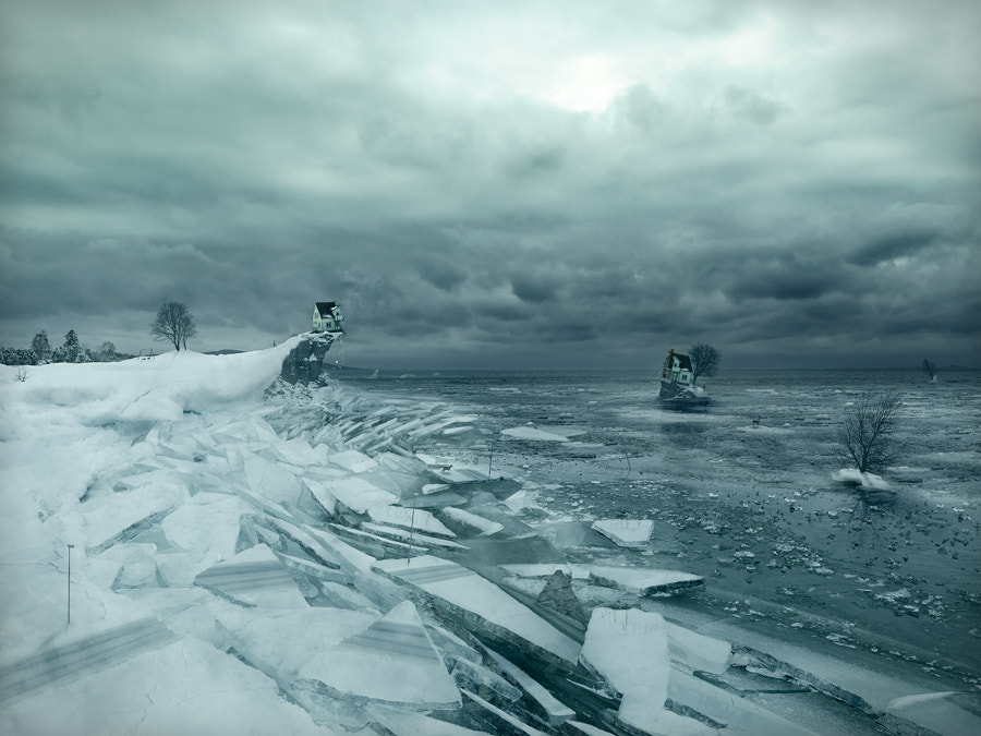 Breaking up by Erik Johansson on 500px.com