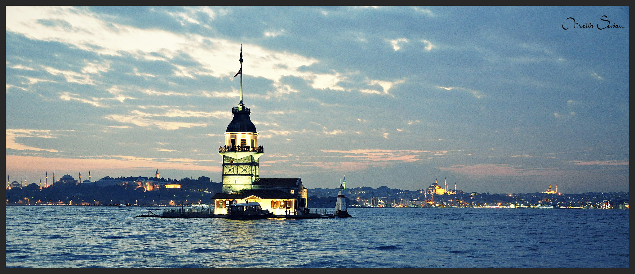 Photograph Maiden's Tower - İstanbul by Melih Gün on 500px