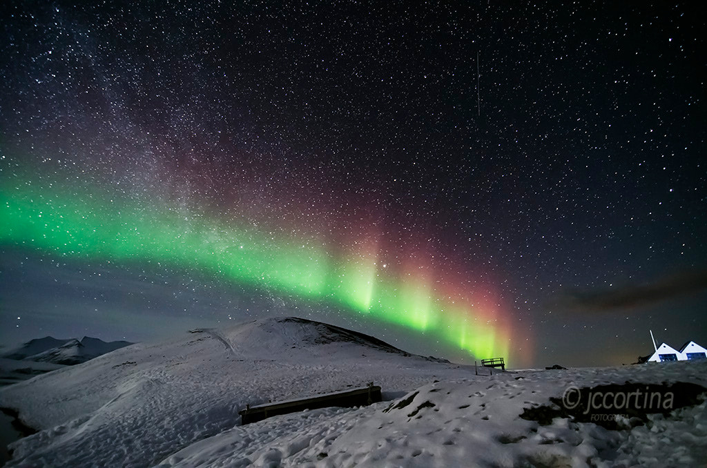 Photograph My first Northern Light in Iceland. Mi primera Aurora Boreal en Islandia by Juan Carlos Cortina  on 500px