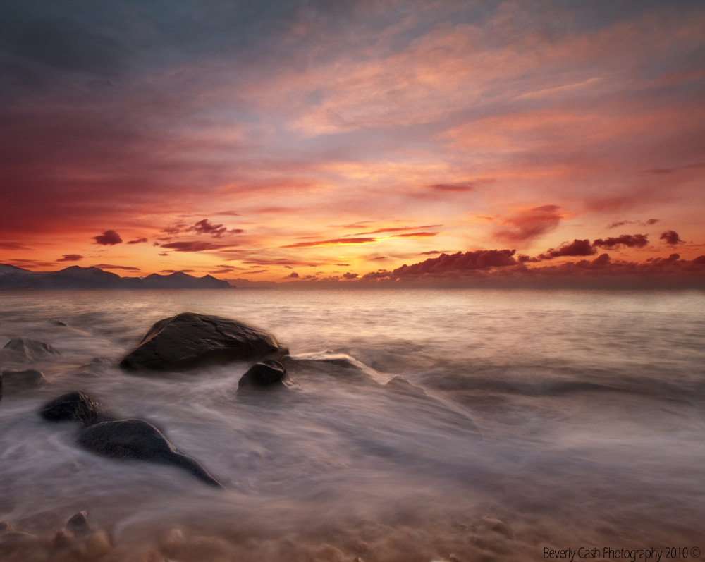 Photograph Dinas Dinlle in winter by Beverly Cash on 500px