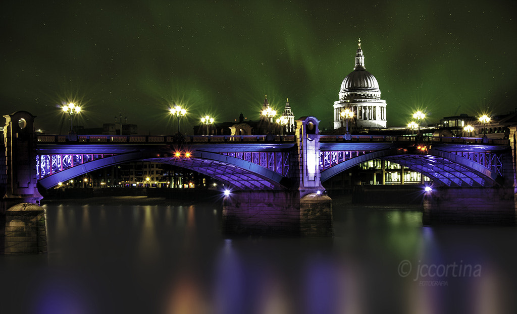 Photograph Recreation Dream of Northern Lights in London by Juan Carlos Cortina on 500px