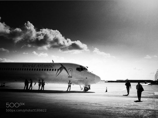 Photograph Last flight out of Cuba by Diane  Cu on 500px