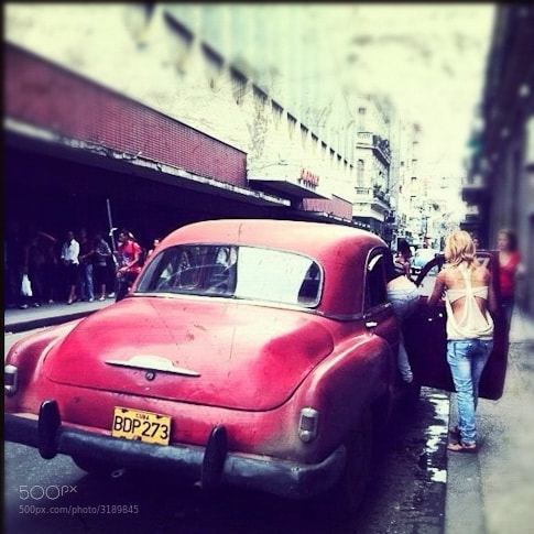 Photograph Cab ride in Cuba by Diane  Cu on 500px