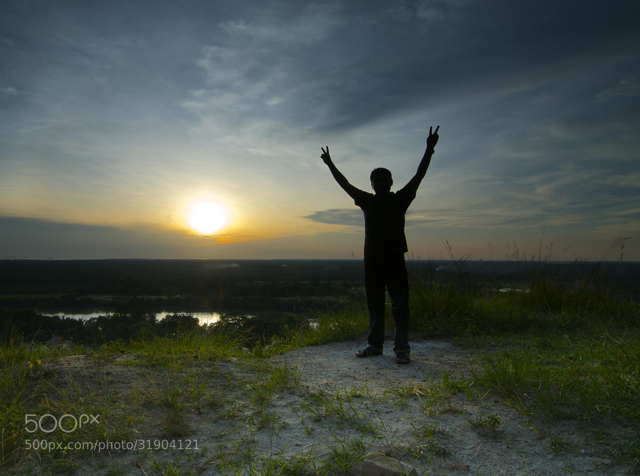 Photograph Silhoute of myself by mradz radz on 500px