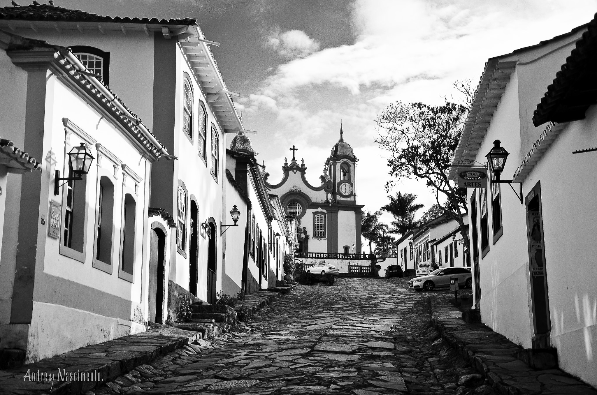 Photograph B&W Tiradentes by Andrey Nascimento on 500px