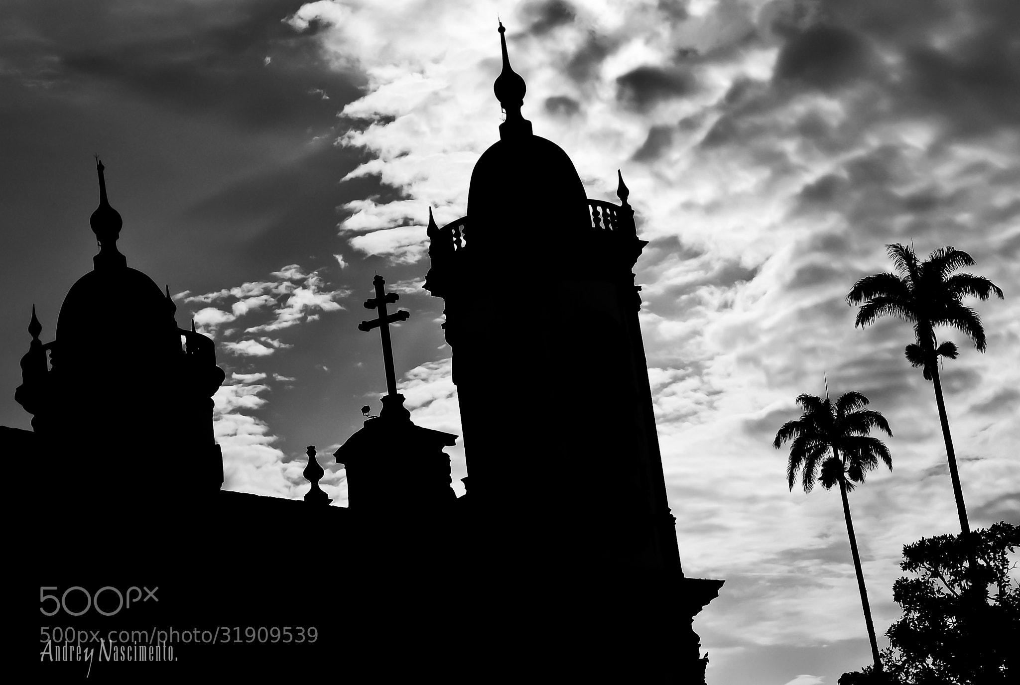 Photograph São João del Rei Church Backlighting by Andrey Nascimento on 500px