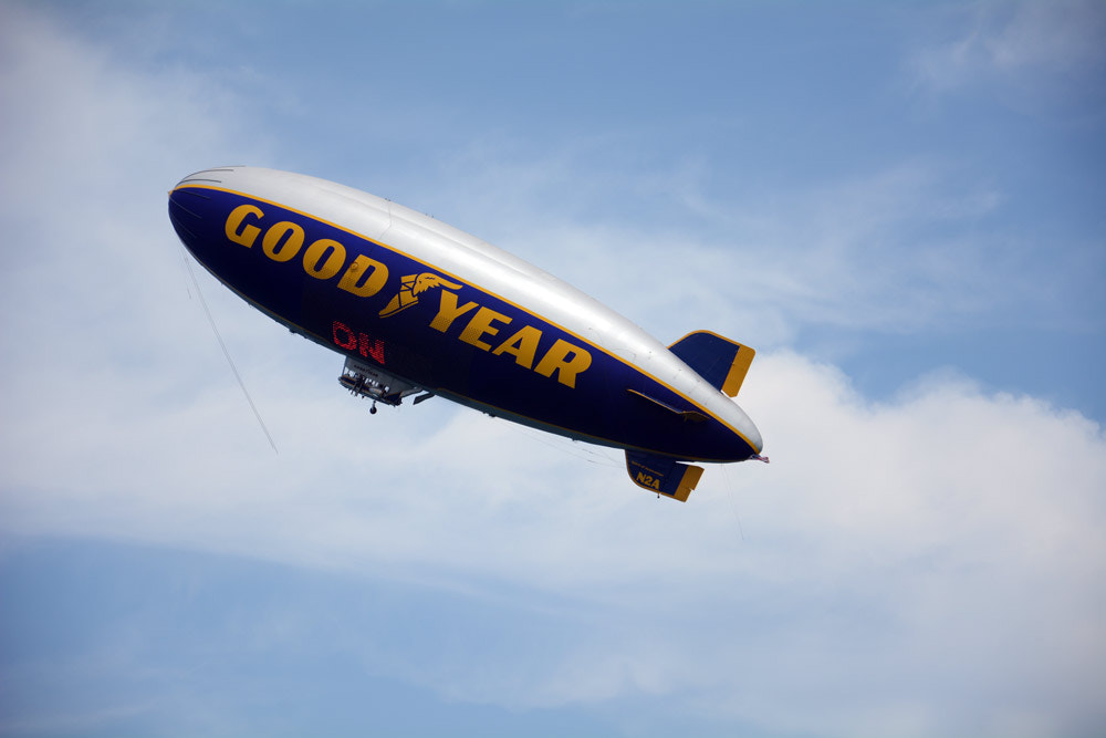 Photograph Blimp by lizfortie on 500px