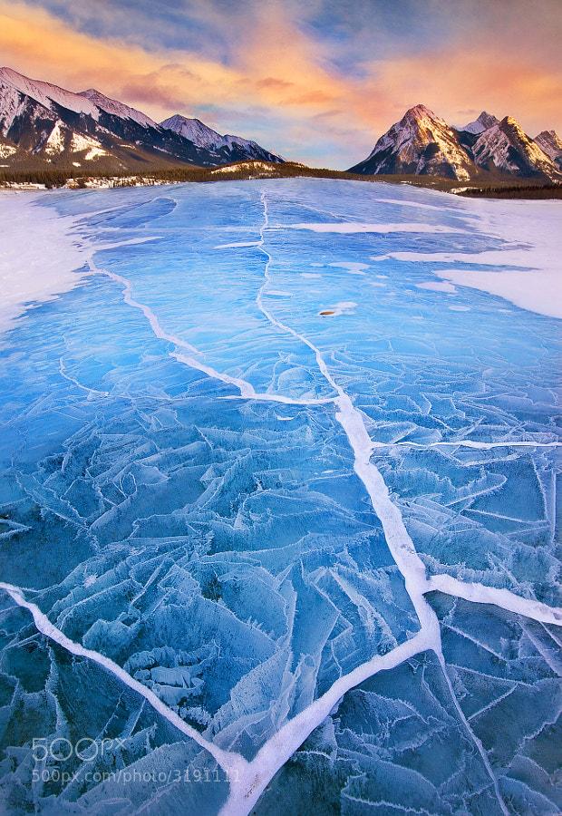Lake Abraham in Winter by Long Nguyen (longhnphoto) on 500px.com