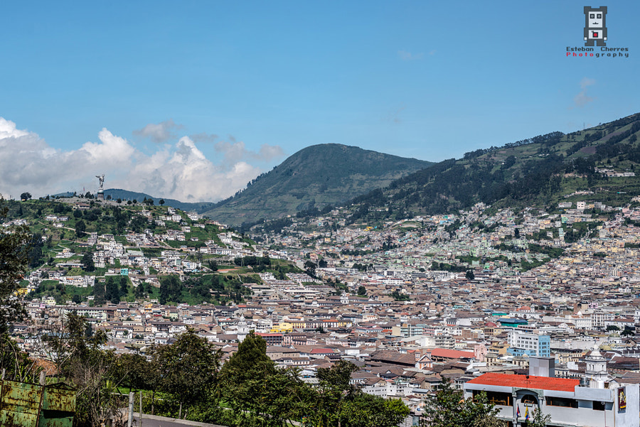 Quito, from Itchimbia park