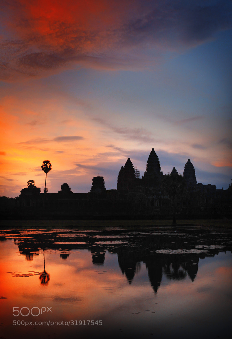 Photograph Morning in Angkor Wat, Cambodia by Woosra Kim on 500px