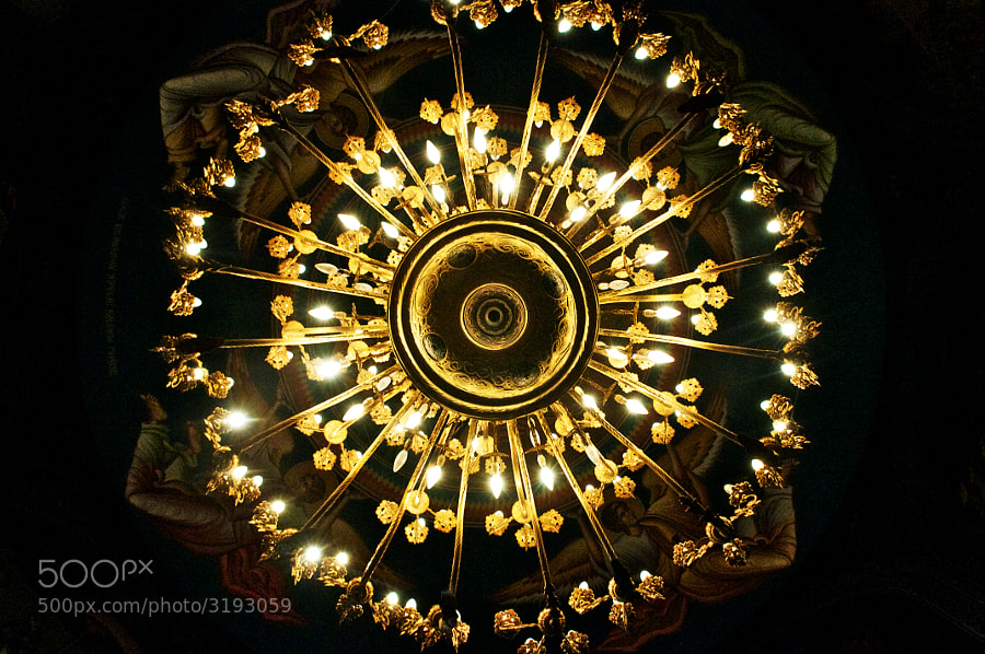 Nikon D300, Chandelier, Lights, Abstract, Indoor, Church, Wedding, Nic and Daniella, Circle, Spoke, Lights