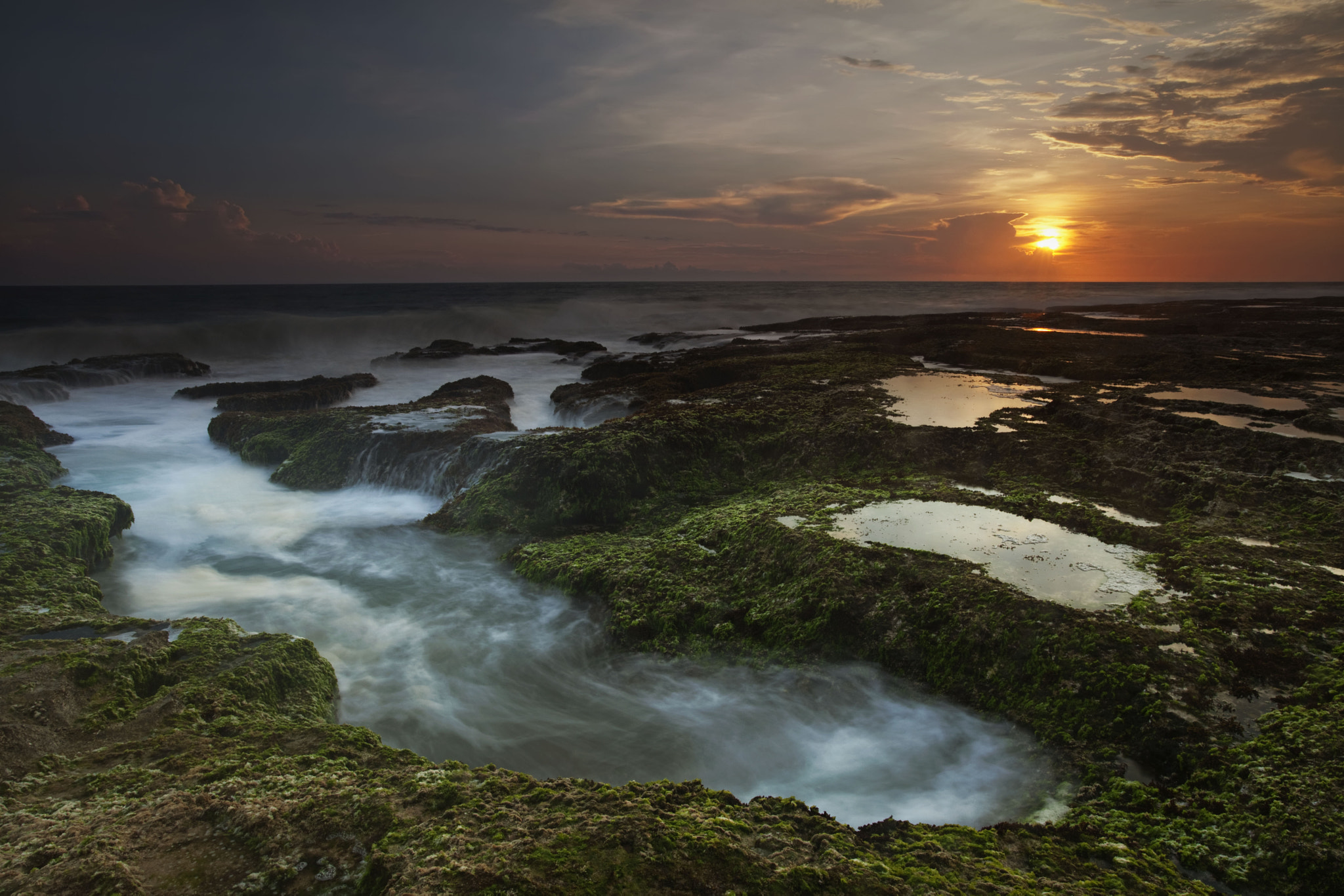 Photograph Sunset @Sawarna by Rollando  Roeslan on 500px
