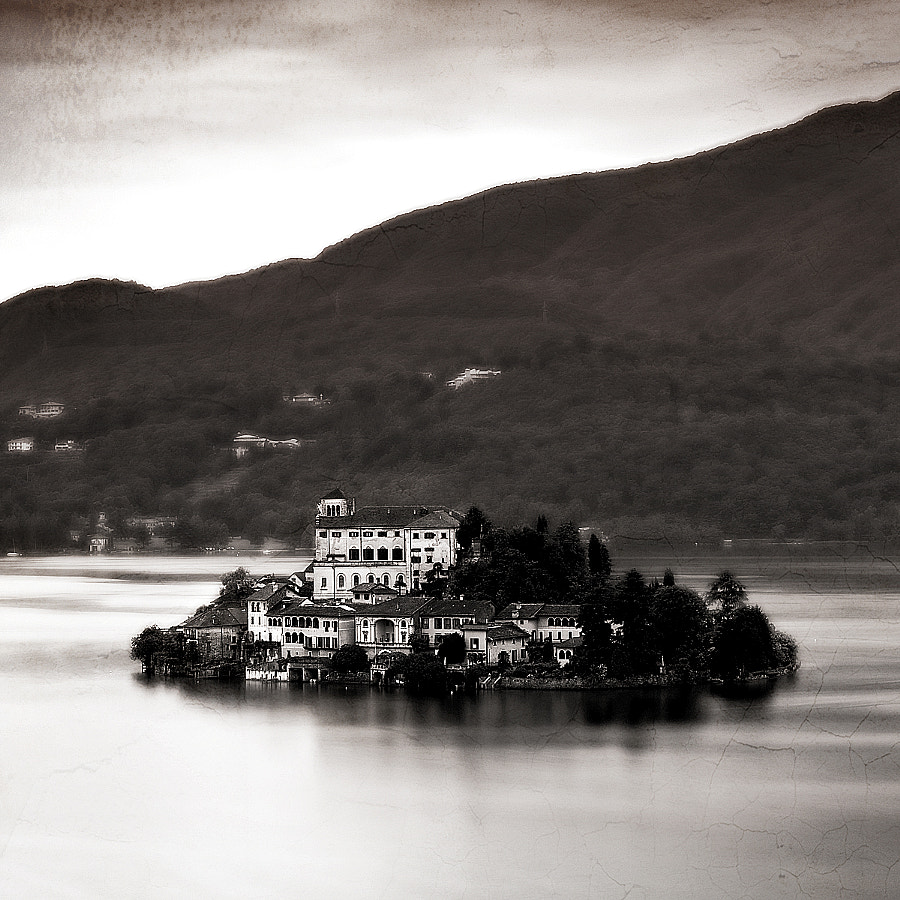 From the stunning small town, Orta San Giulio in Italy, you can see the little island, Isola San Giulio, amazing place...