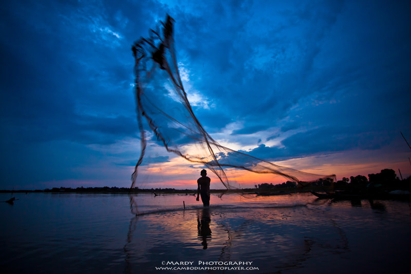 Photograph L style of Khmer fisherman Net ! by Mardy Suong Photography on 500px
