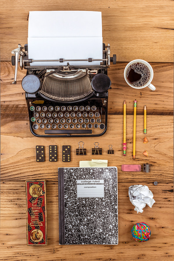 Photograph On a Writer's Desk by Suzanne Clements on 500px