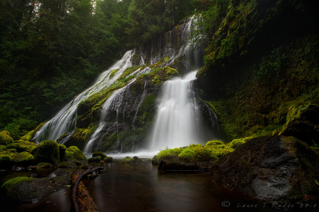 Photograph Panther Creek Falls by Lance Rudge on 500px