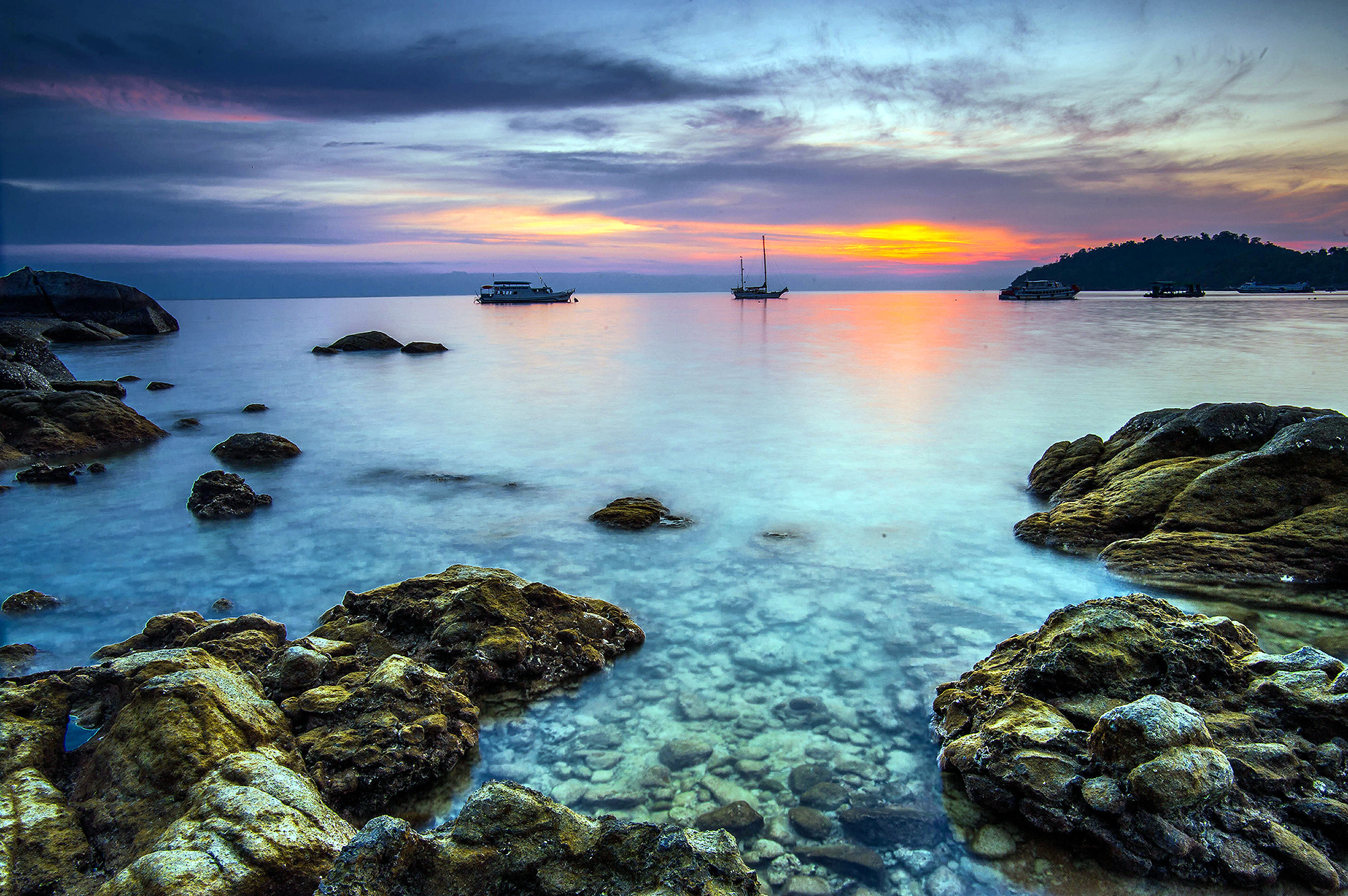 Photograph Sunset at Koh Lipe by Puchong Pannoi on 500px