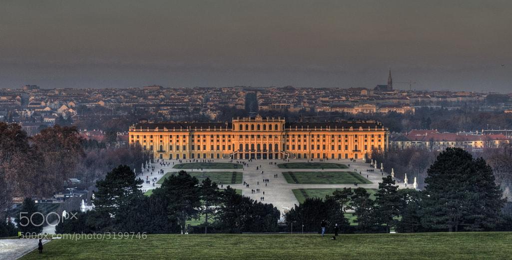Photograph  Schönbrunn Palace by Adrian Kraszewski on 500px