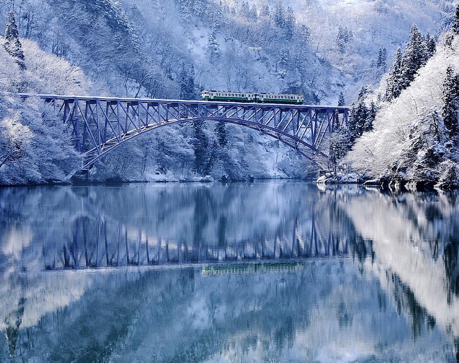 Cold valley, автор — HIDE KTG на 500px.com