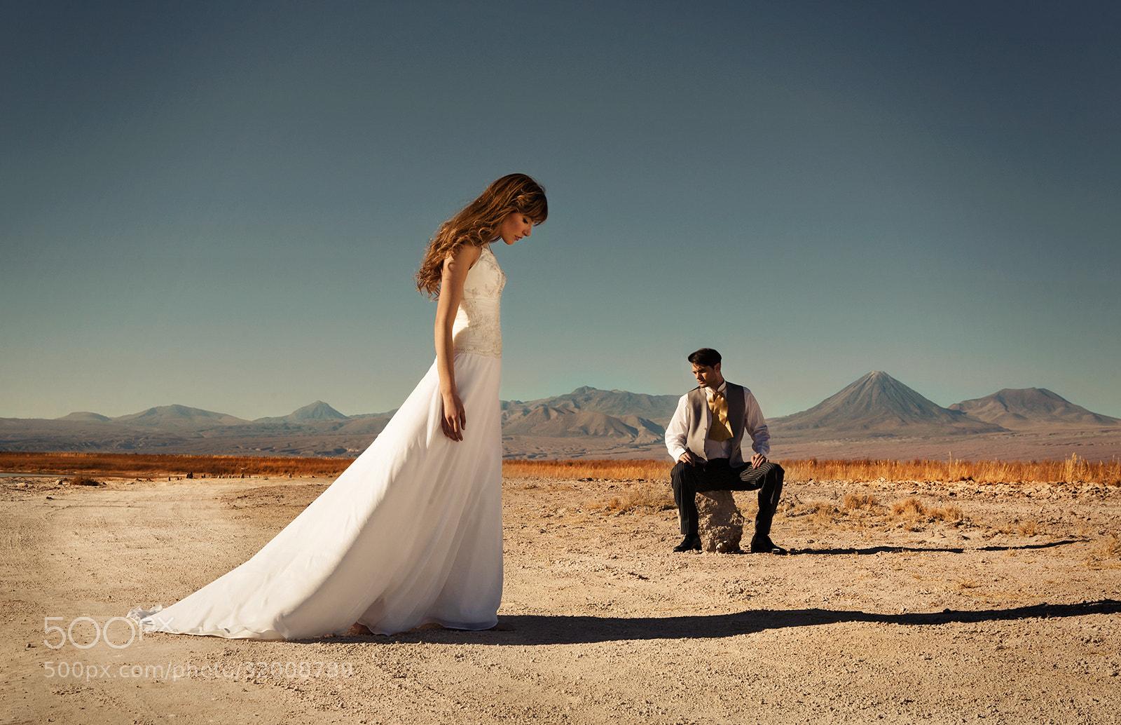 Photograph Atacama Brides Fashion by Wieslaw Olejniczak on 500px