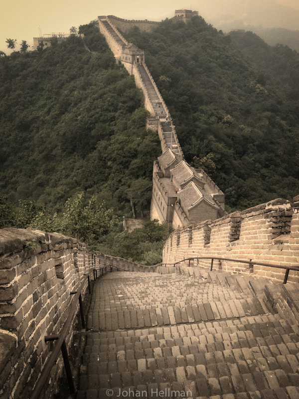 Photograph Great wall of China by Johan Hellman on 500px