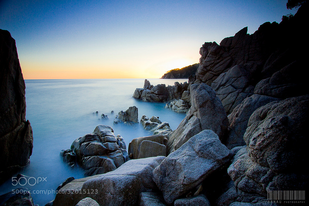 Photograph Sunset on the rocks by Arnau Perez on 500px
