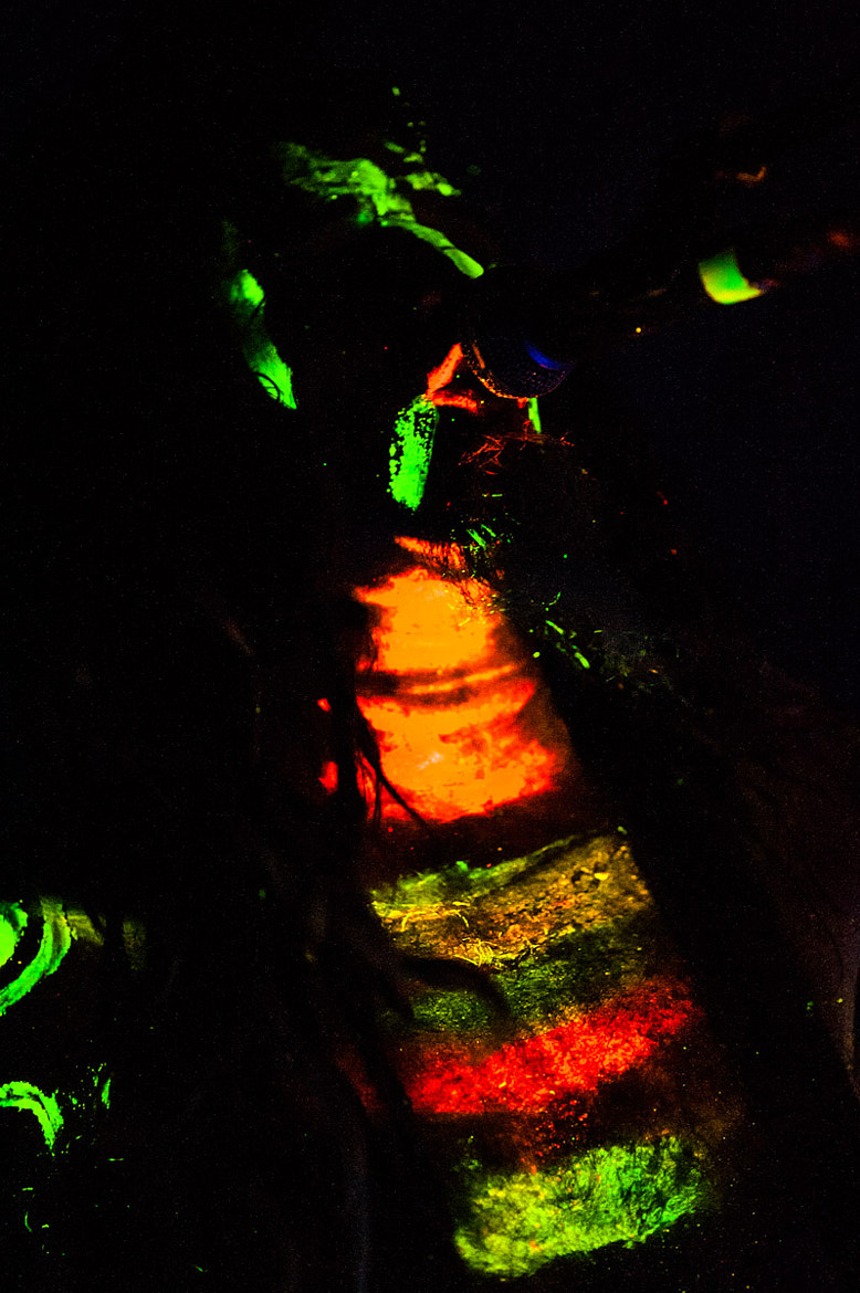 Photograph Uv painted Singer - What a Funk by Stefano Catalani on 500px